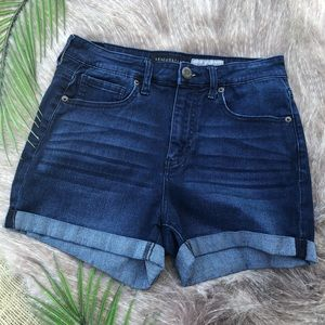 Aeropostale | High Rise Denim Cuffed Shorts 2